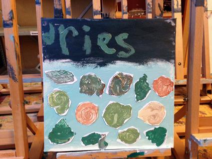 Dries kunst in de klas Agatha Snellen