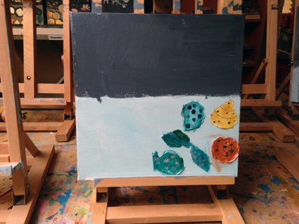 Elisaveta kunst in de klas Agatha Snellen
