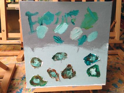 Eric kunst in de klas Agatha Snellen