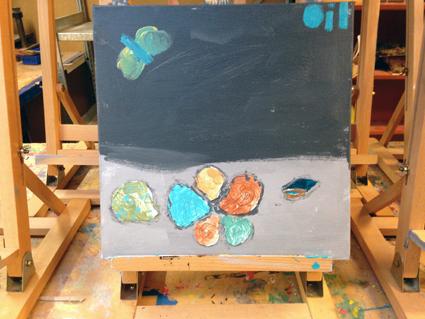 Lio kunst in de klas Agatha Snellen