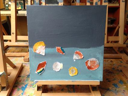 Madelief kunst in de klas Agatha Snellen