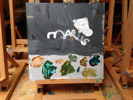 Marius kunst in de klas Agatha Snellen