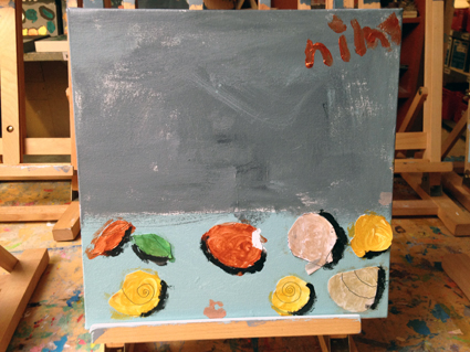 Nim kunst in de klas Agatha Snellen