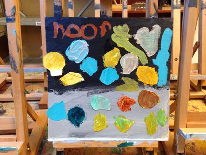 Noor kunst in de klas Agatha Snellen