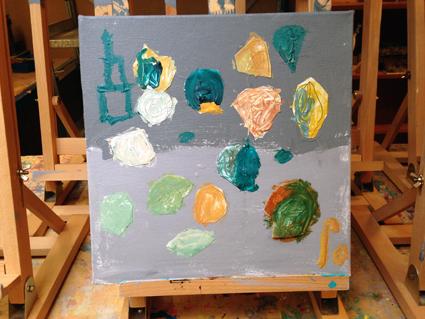 Ro kunst in de klas Agatha Snellen