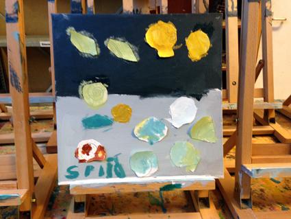 Splinter kunst in de klas Agatha Snellen