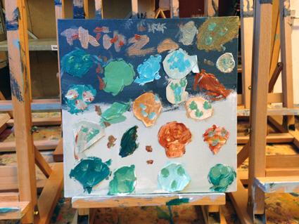 Thirza kunst in de klas Agatha Snellen